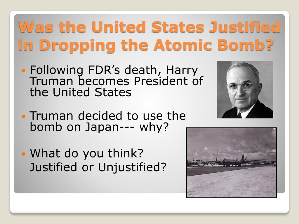 pros and cons of the atomic bomb in wwii essay 2 lessons building towards an assessed piece of writing - was the dropping of the atomic bomb on hiroshima justified lesson 1 covers the end of wwii in europe, and highlights america's role in wwii and the island hopping campaign - excellent.