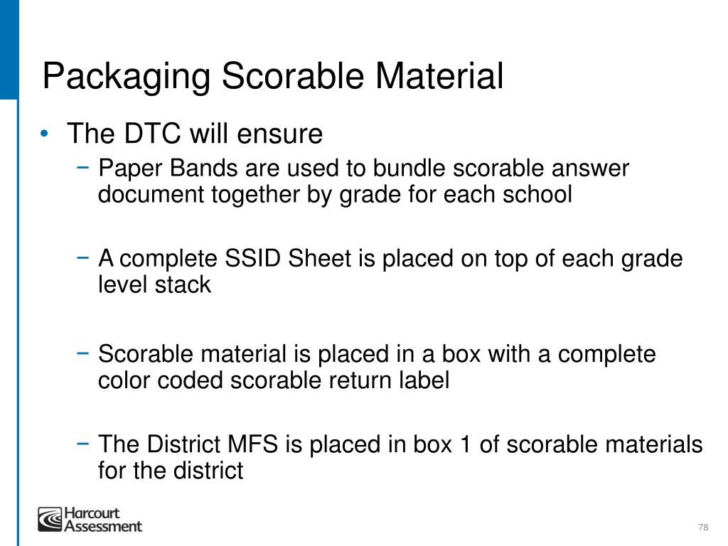 Packaging Scorable Material