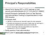 principal s responsibilities