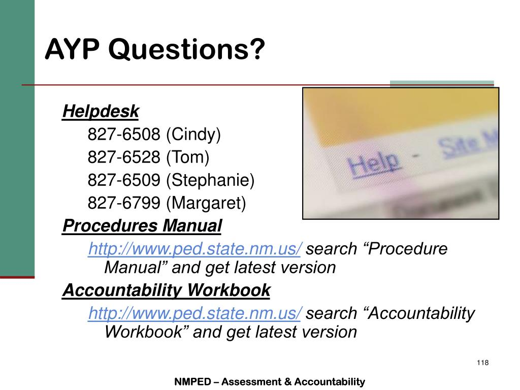 AYP Questions?