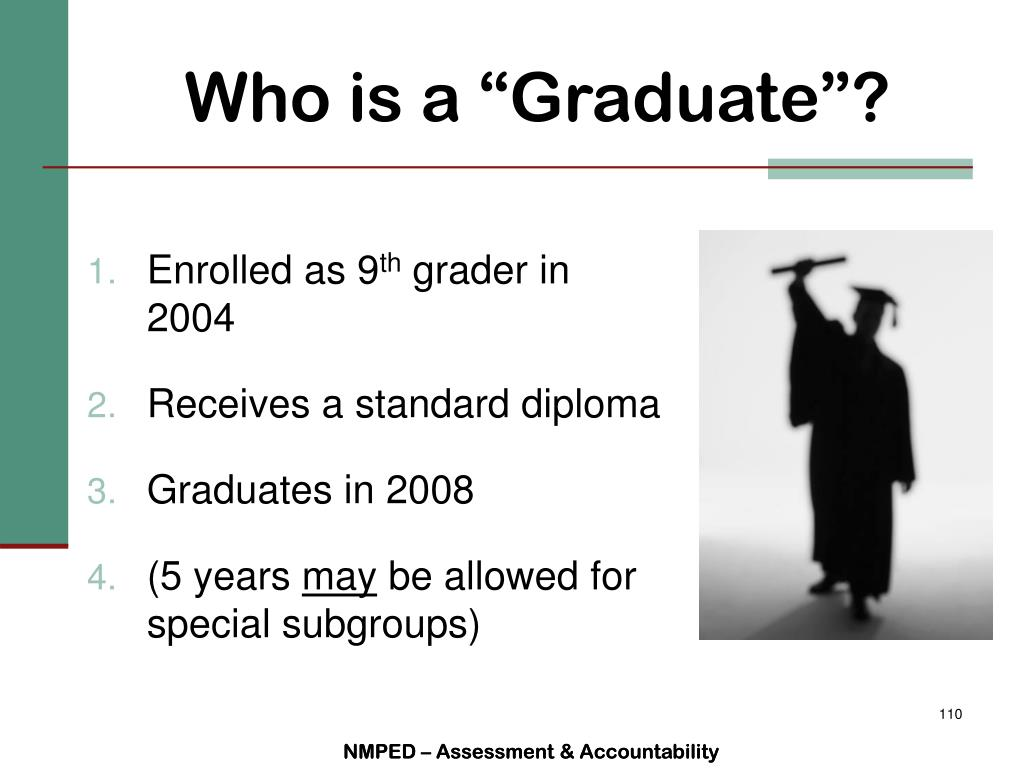 "Who is a ""Graduate""?"