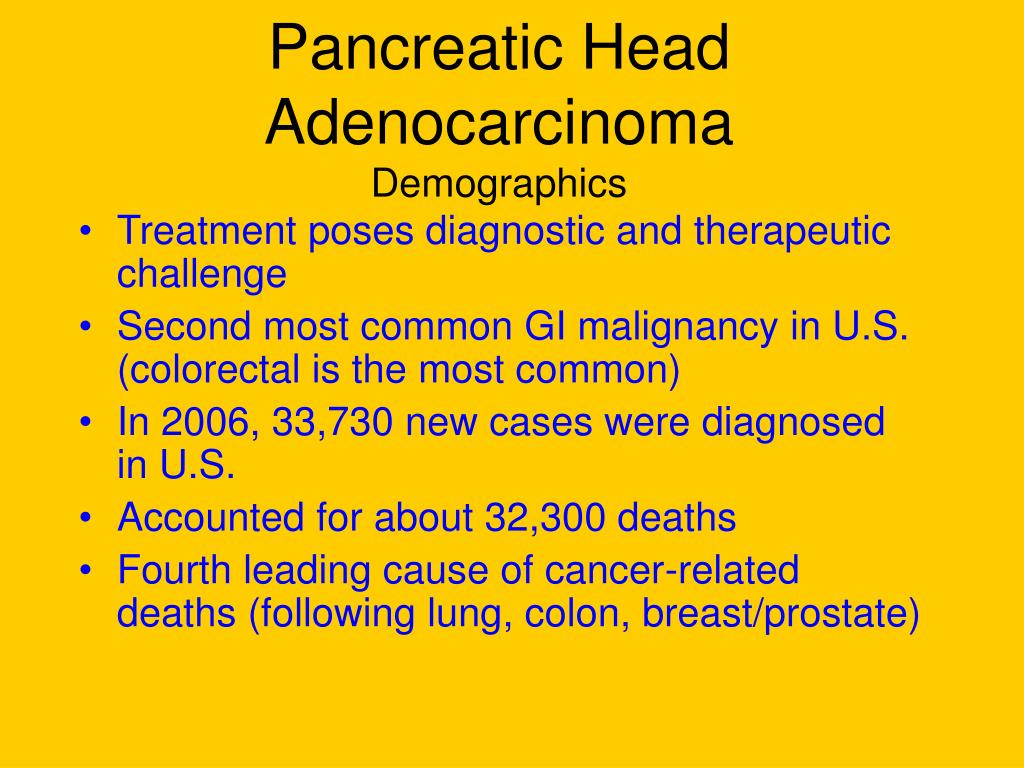 Pancreatic Head Adenocarcinoma