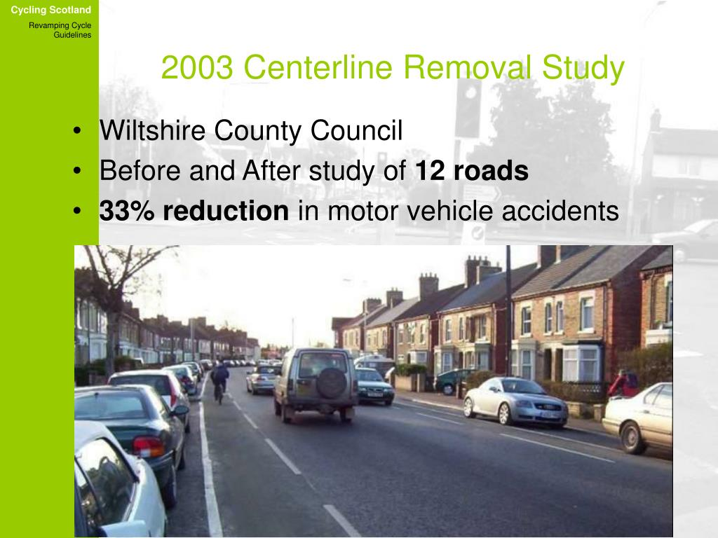 2003 Centerline Removal Study