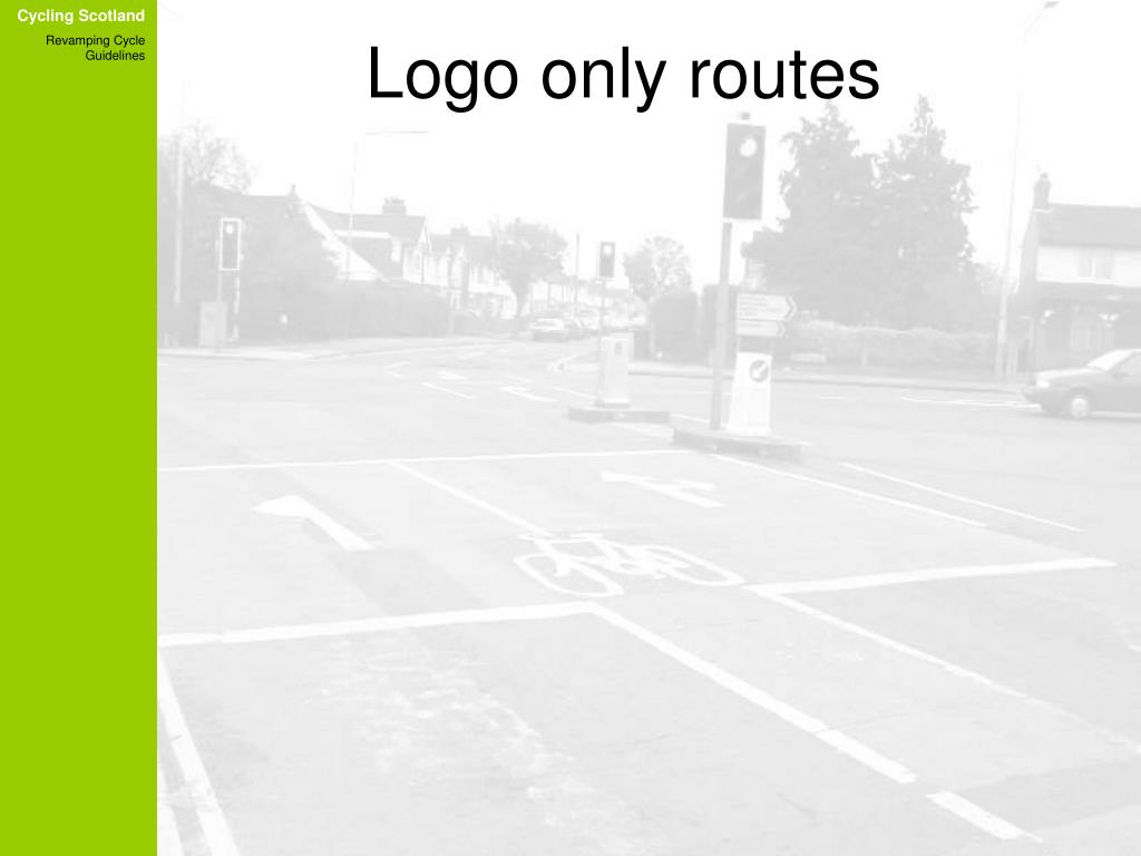Logo only routes