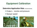 equipment calibration1