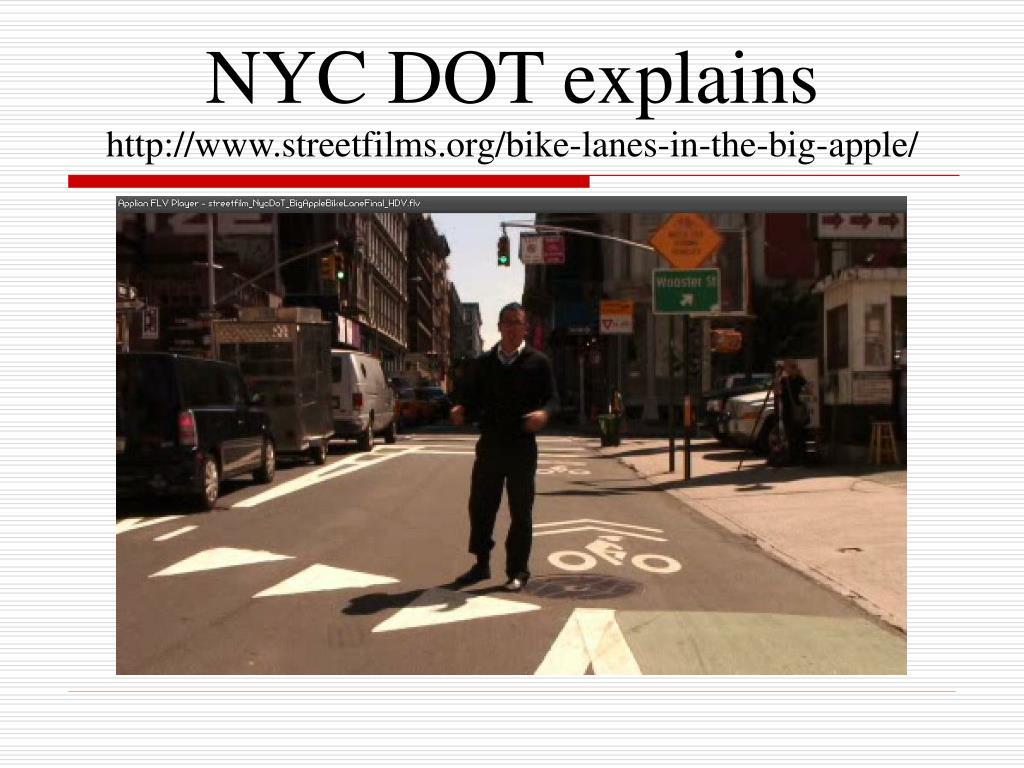 NYC DOT explains