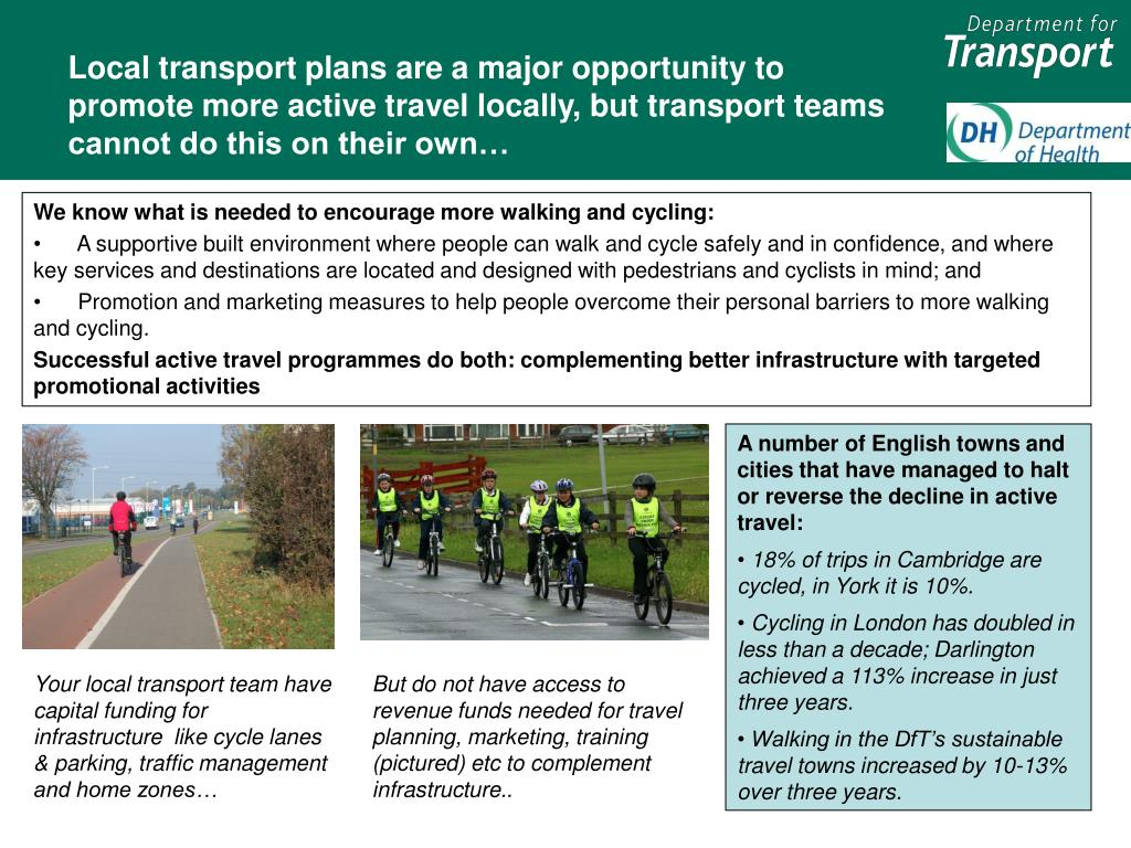 Local transport plans are a major opportunity to promote more active travel locally, but transport teams cannot do this on their own…