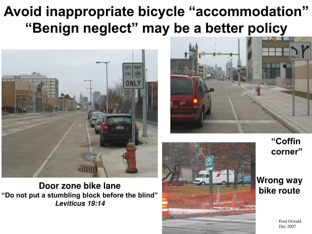 Door zone bike lane