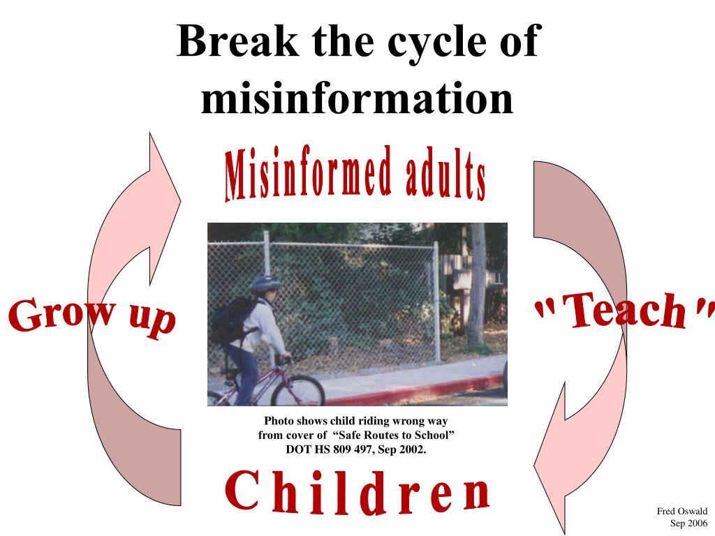 Break the cycle of