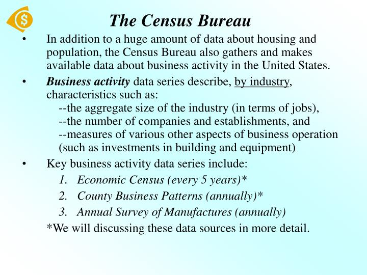 The census bureau