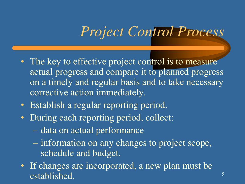 Project Control Process