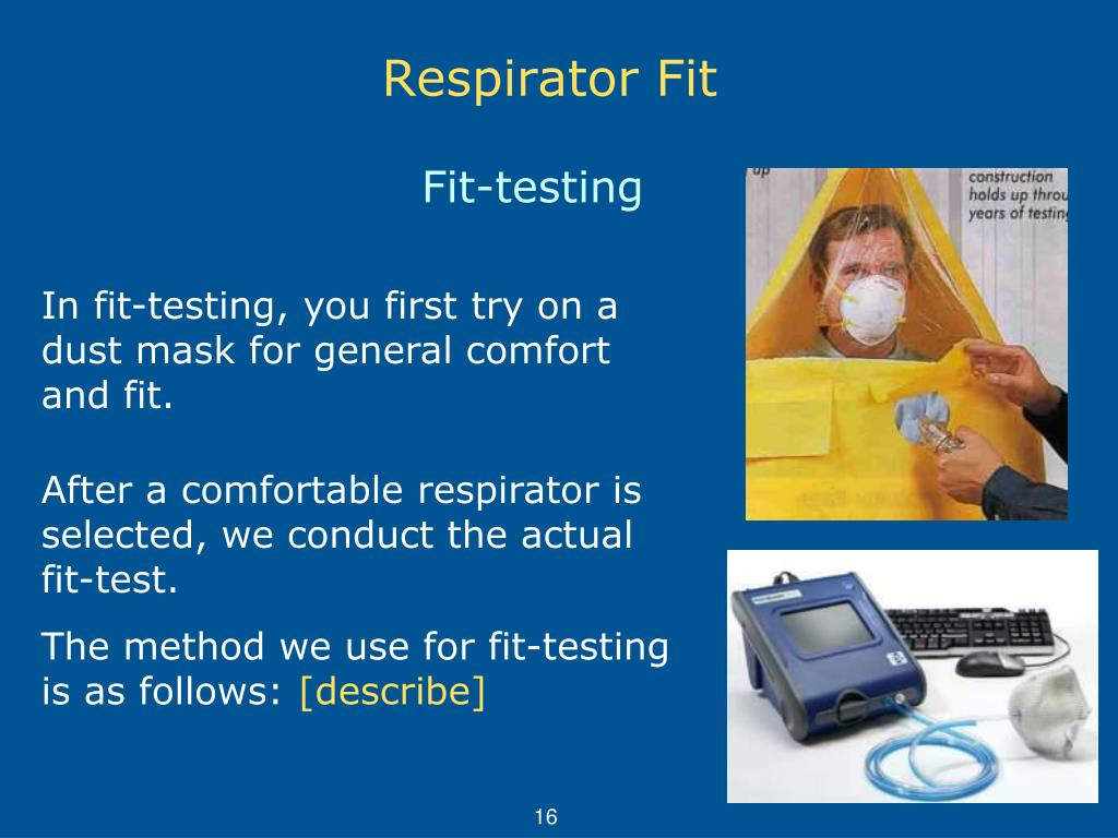 Awesome Respiratory Protection Fit Tester Cover Letter Gallery - Respiratory Protection Fit Tester Cover Letter