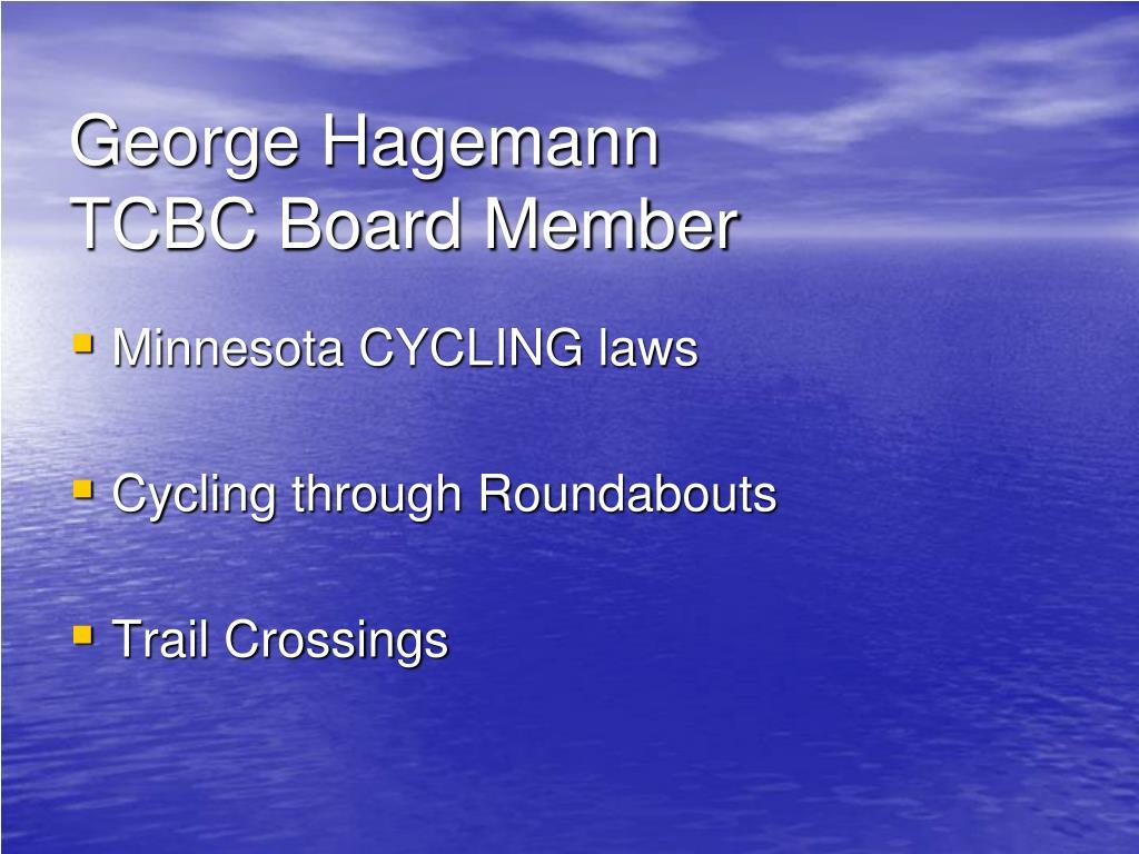 George Hagemann