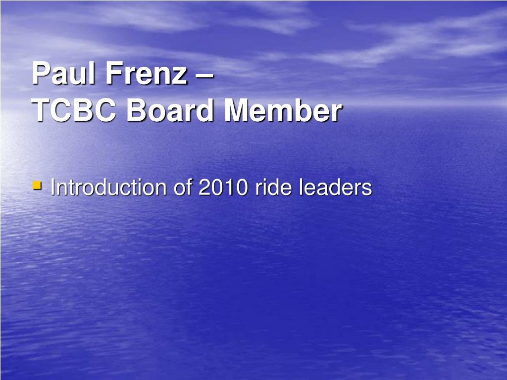Paul Frenz –