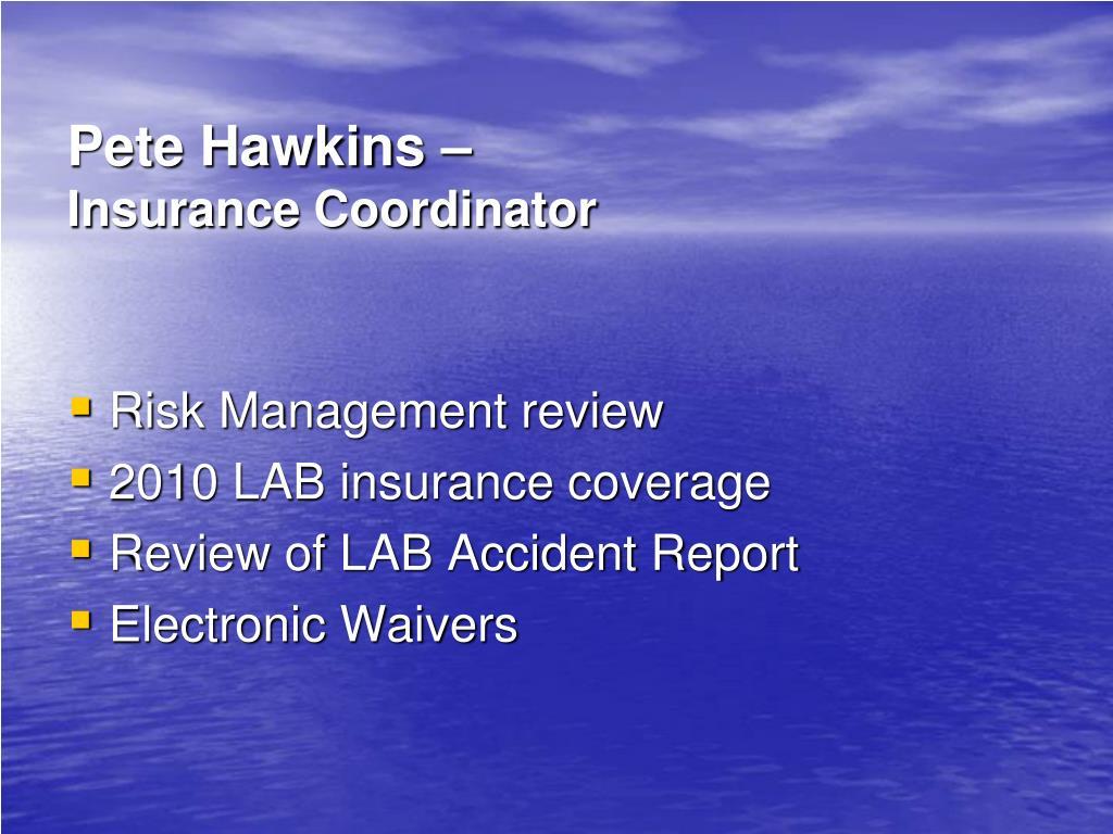 Pete Hawkins –