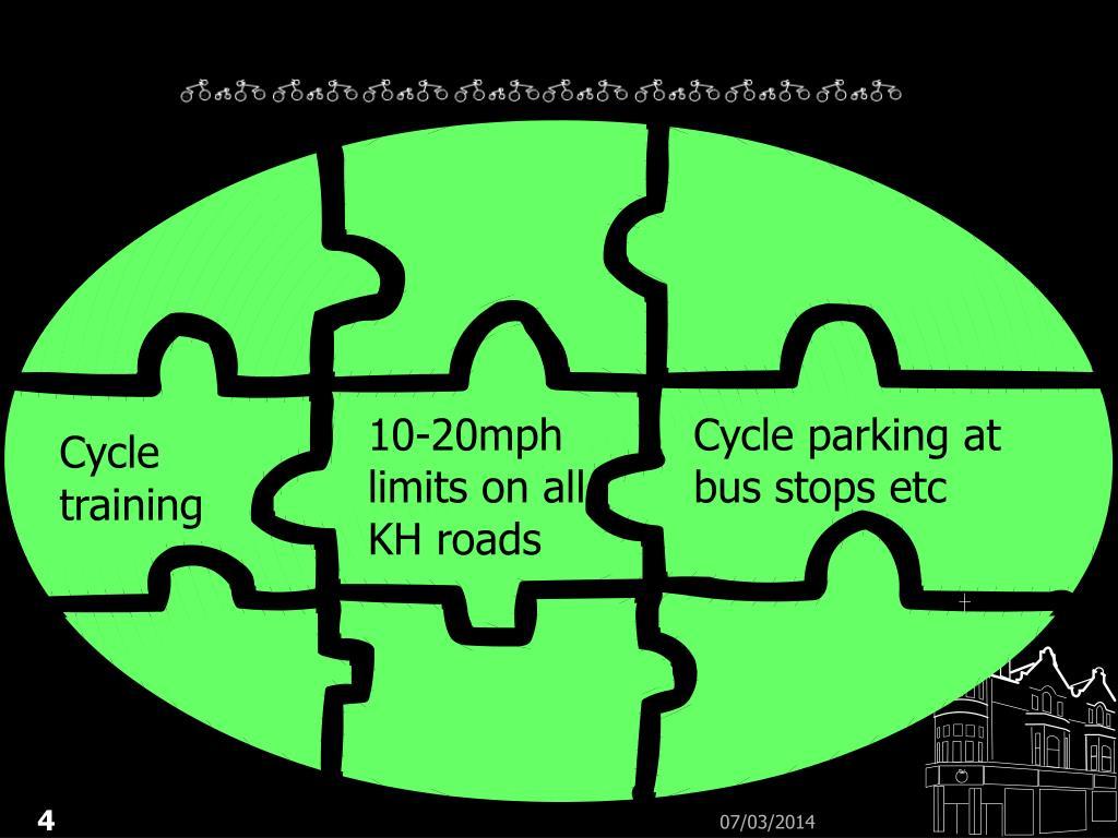 10-20mph limits on all KH roads