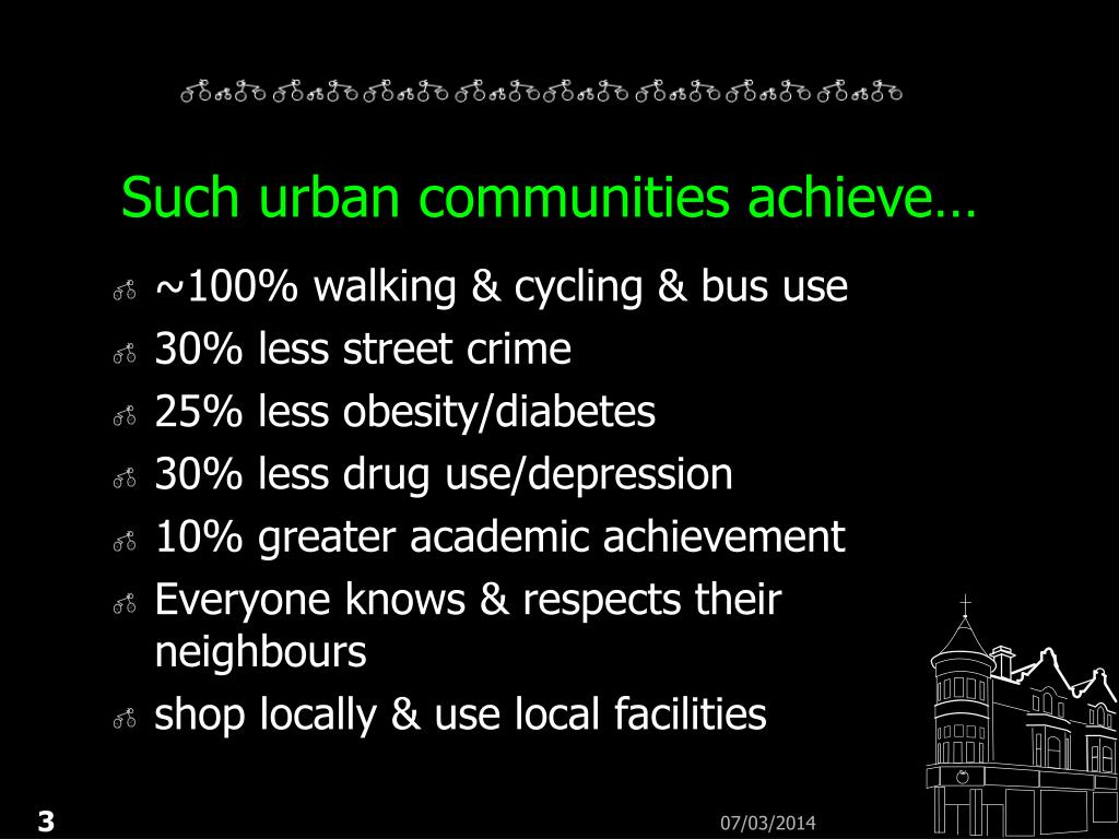 Such urban communities achieve…