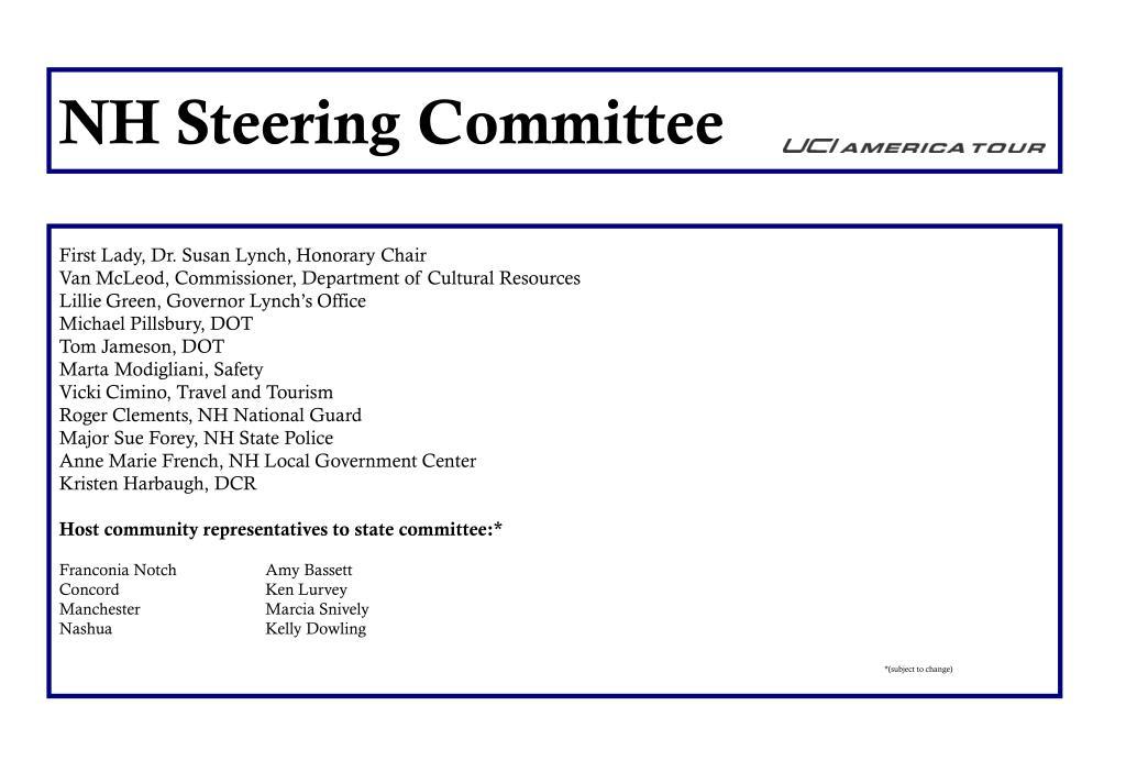 NH Steering Committee