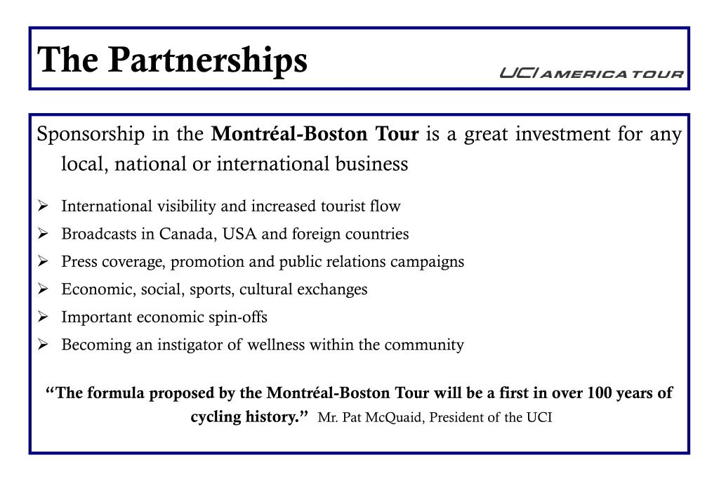 The Partnerships