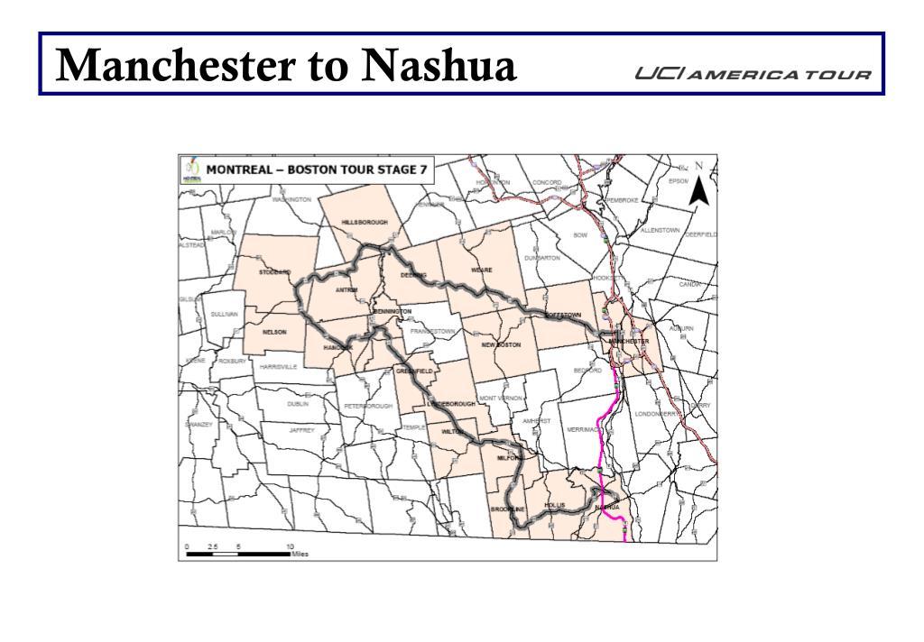 Manchester to Nashua