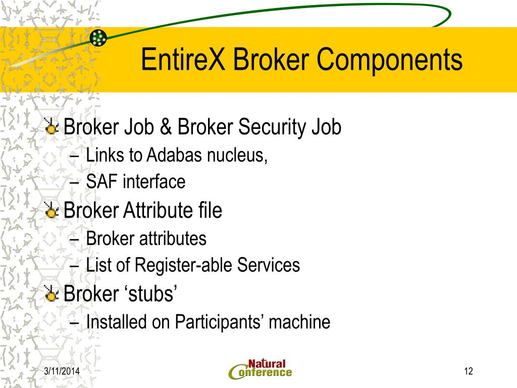 Entirex broker security