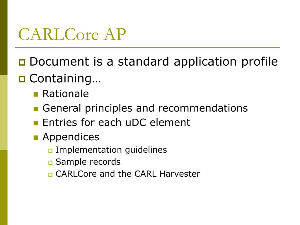 CARLCore AP