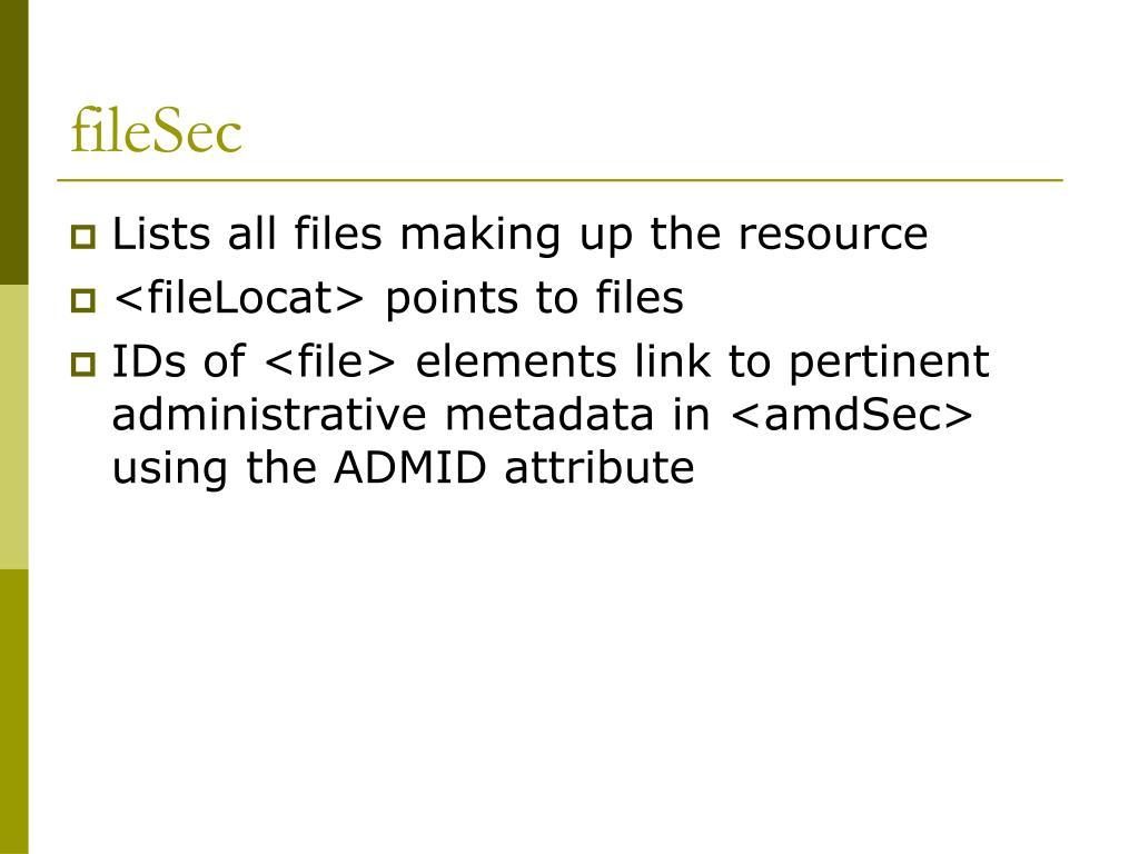 fileSec
