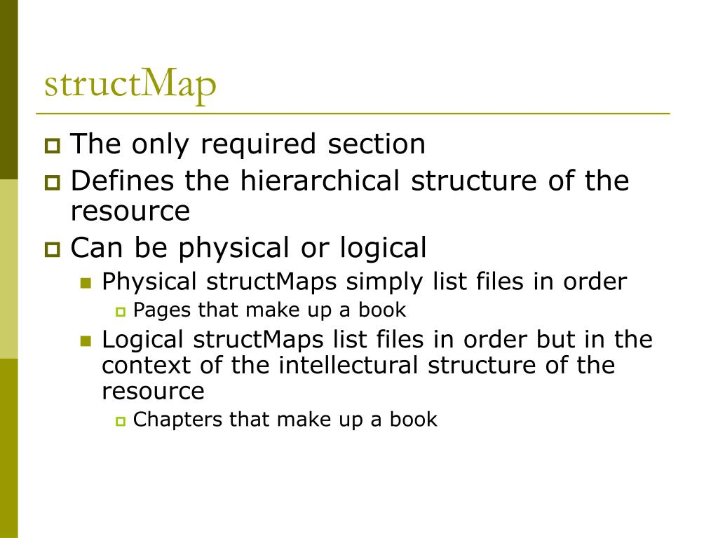 structMap