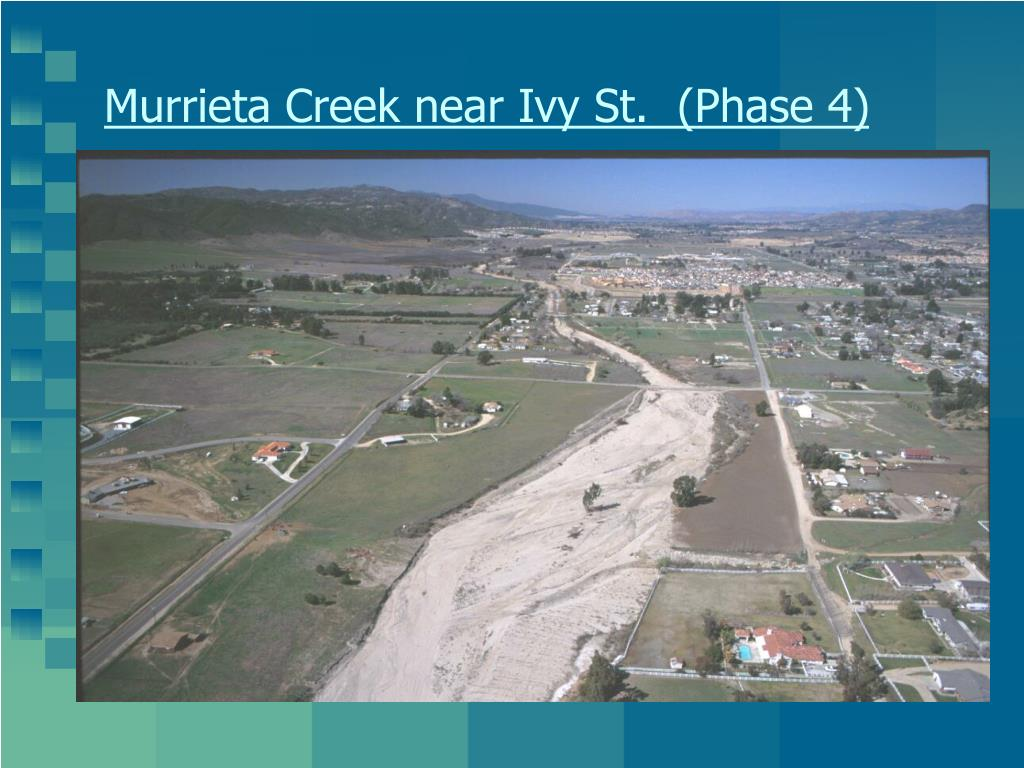 Murrieta Creek near Ivy St.  (Phase 4)