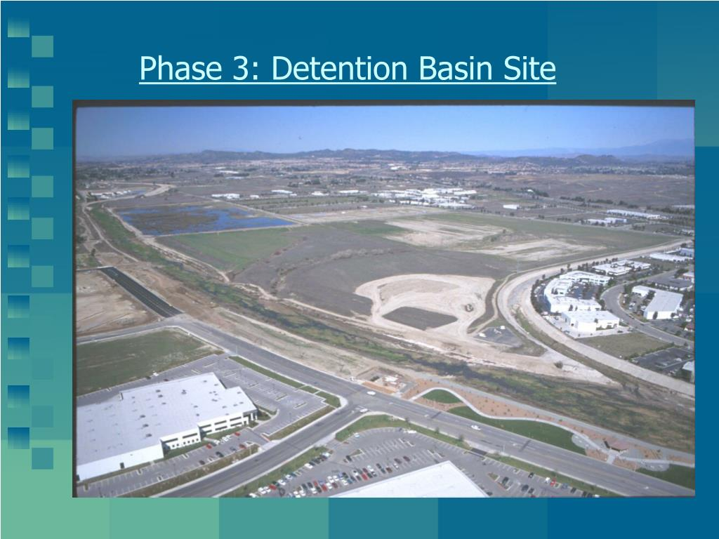 Phase 3: Detention Basin Site