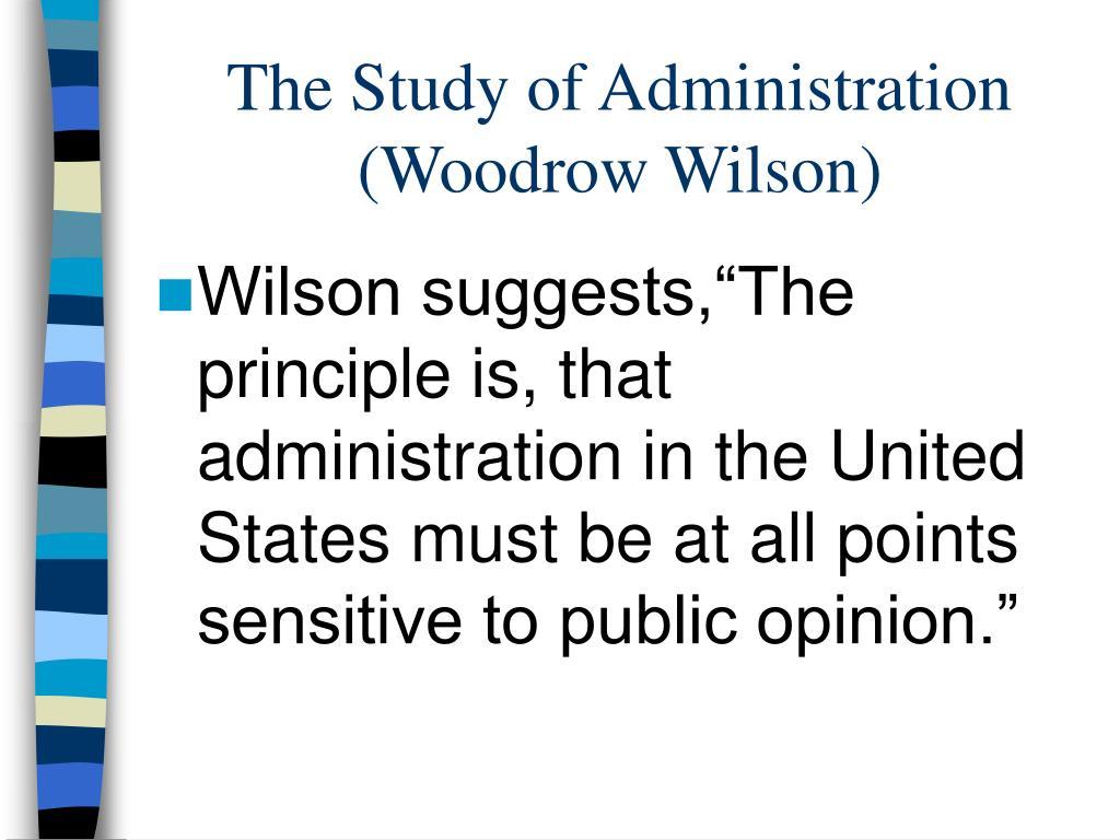Woodrow Wilson Essay