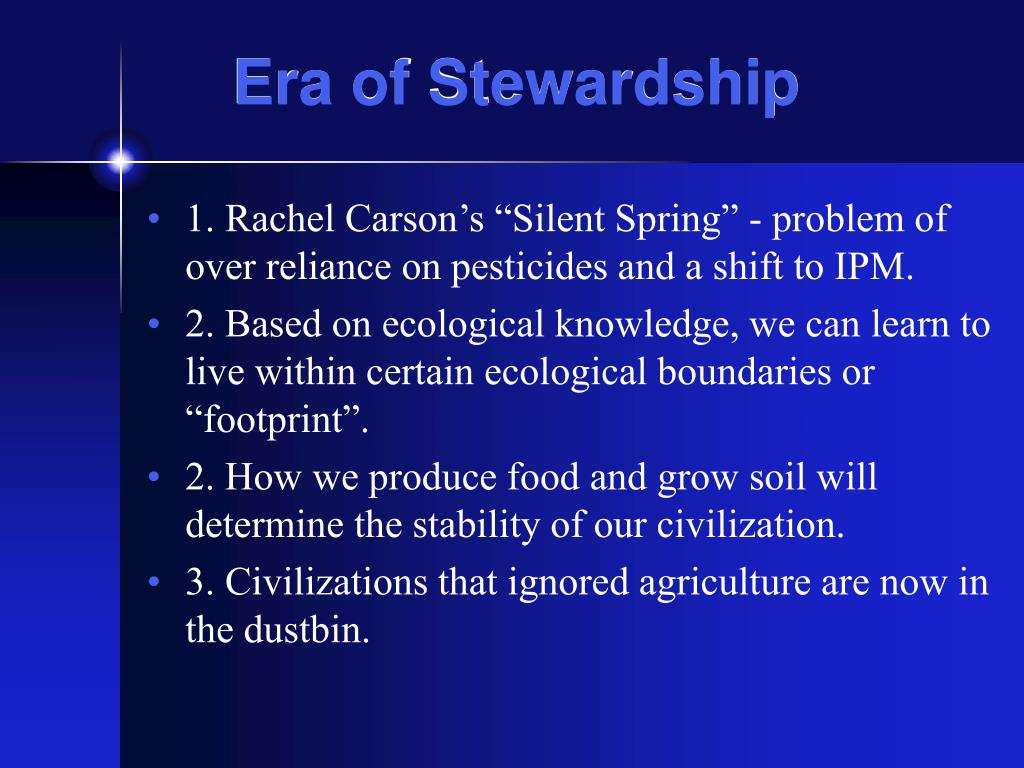 Era of Stewardship