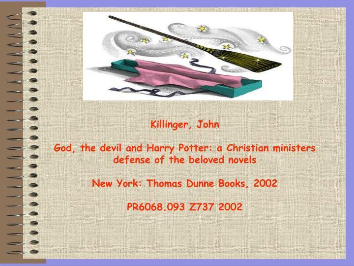 Killinger, John