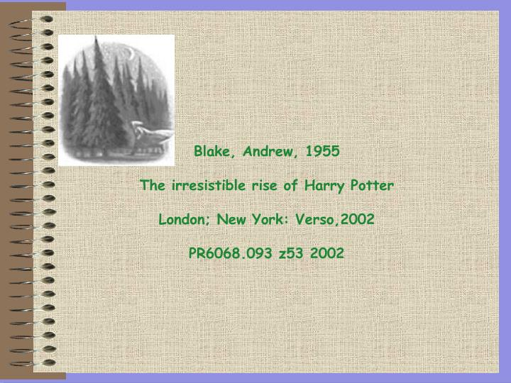 Blake, Andrew, 1955
