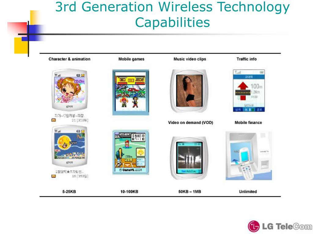 3rd Generation Wireless Technology Capabilities