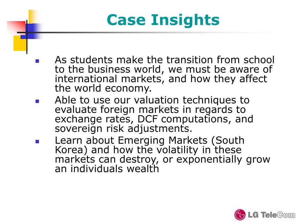 Case Insights
