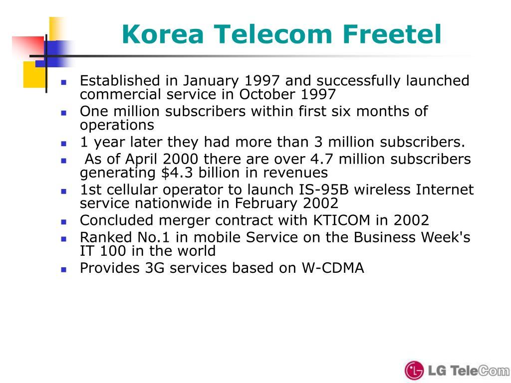Korea Telecom Freetel