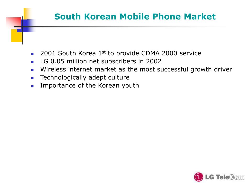 South Korean Mobile Phone Market