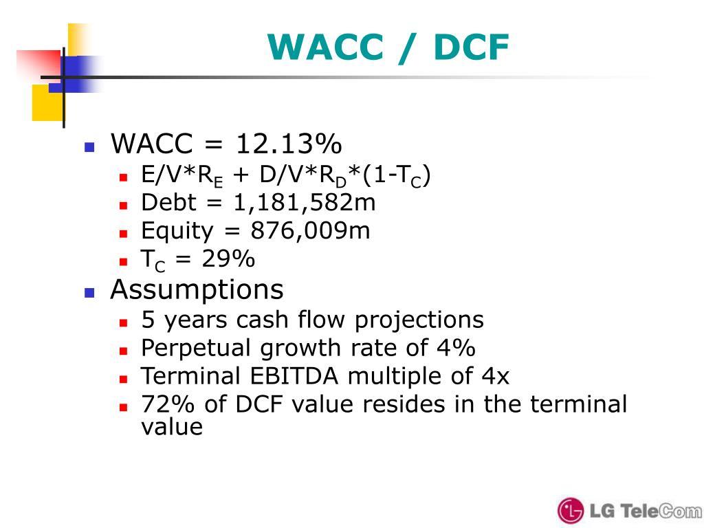 WACC / DCF