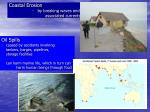 coastal erosion by breaking waves and associated currents