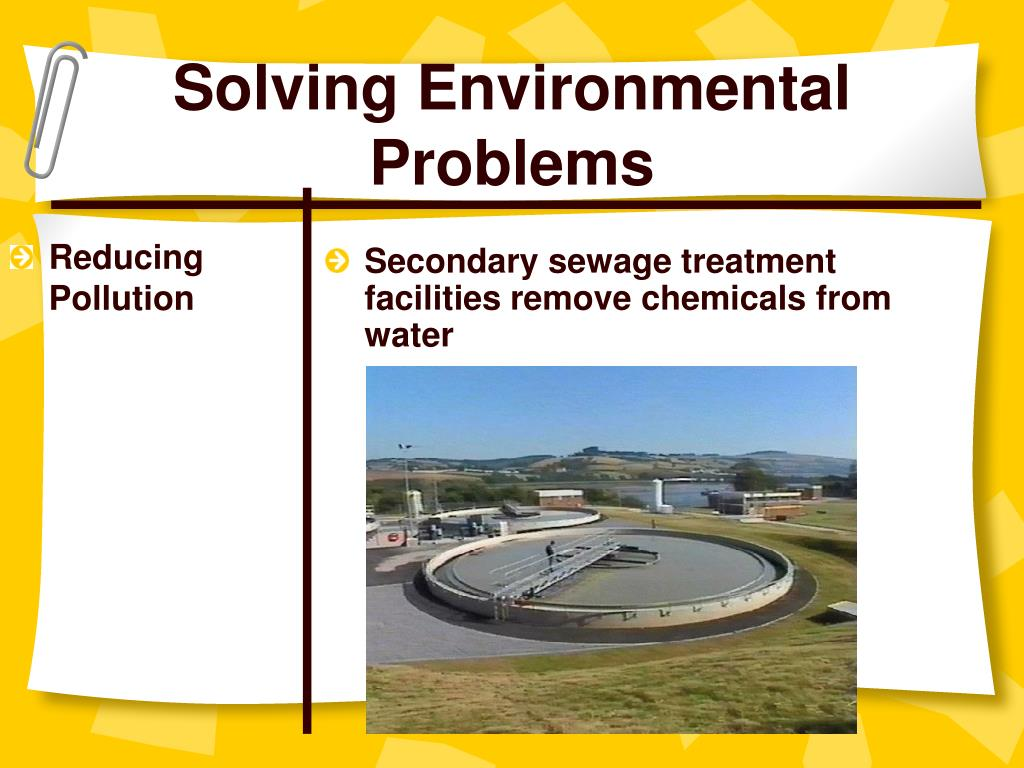 "solving environmental problems What has become known as the ""greenhouse effect,"" which scientific evi-   lation), we can, at the same time, also help solve another problem (increasing."