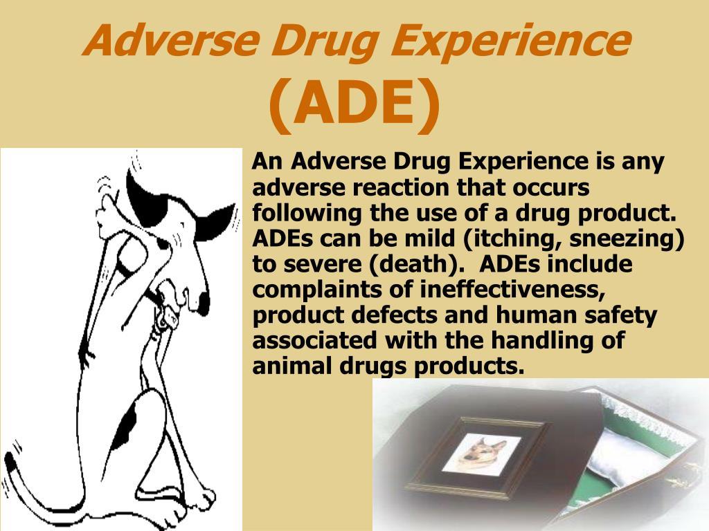 Adverse Drug Experience