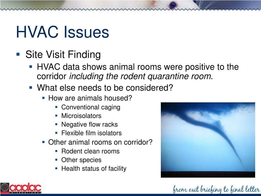 HVAC Issues