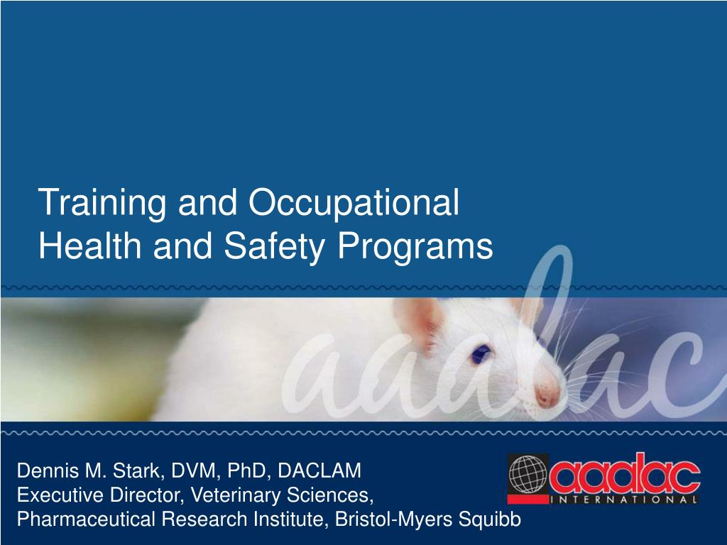 Training and Occupational