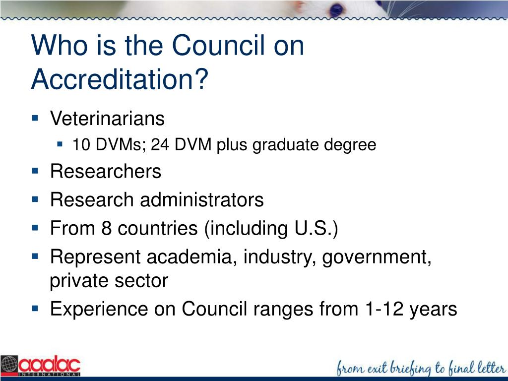 Who is the Council on Accreditation?
