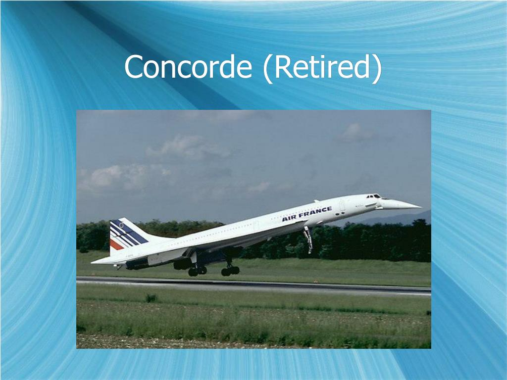 Concorde (Retired)