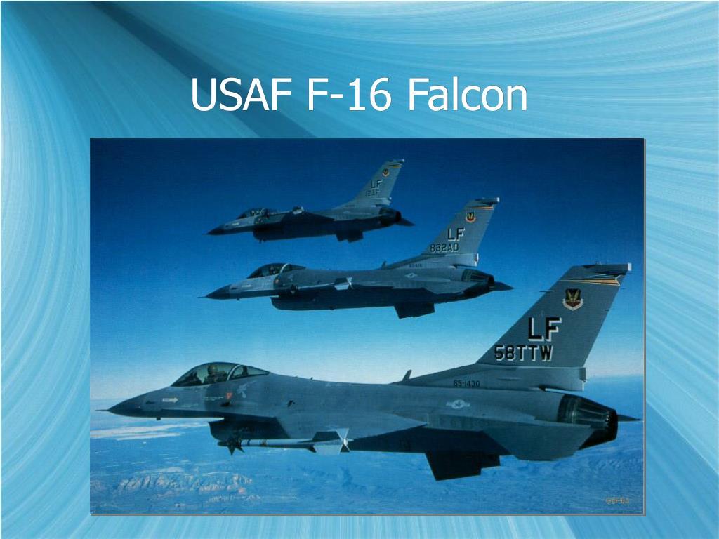 USAF F-16 Falcon