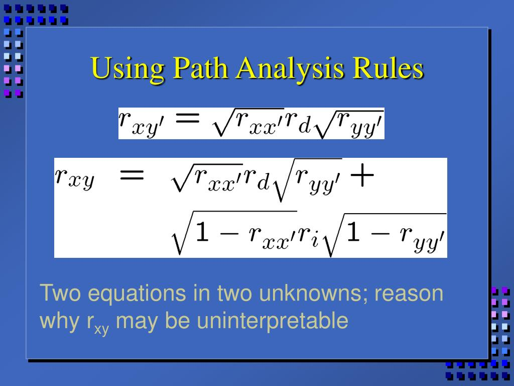 Using Path Analysis Rules