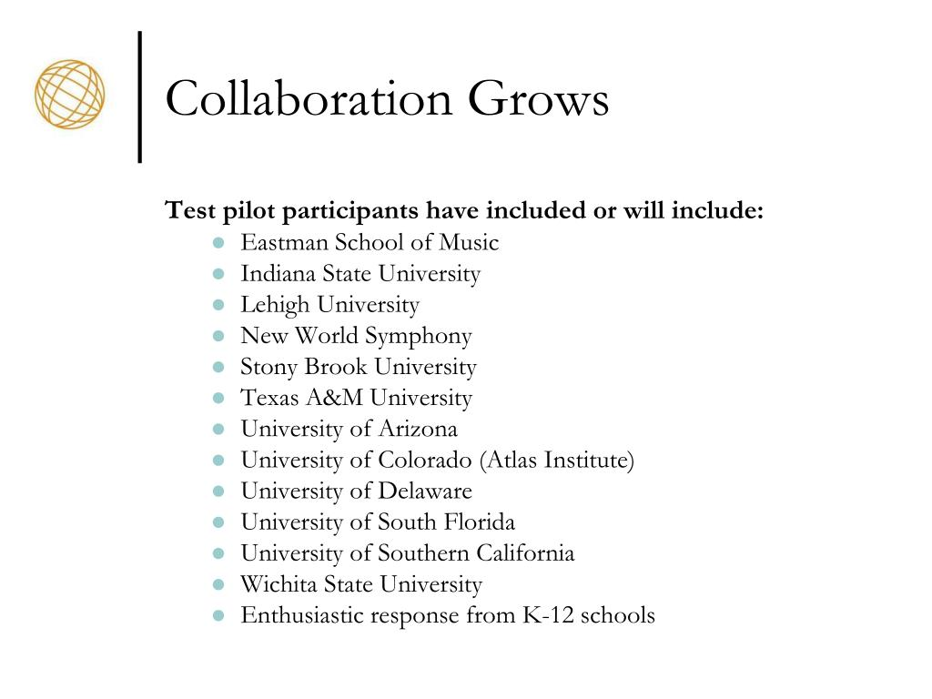 Collaboration Grows
