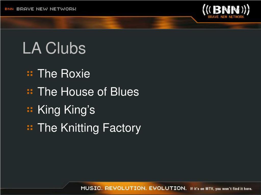 LA Clubs